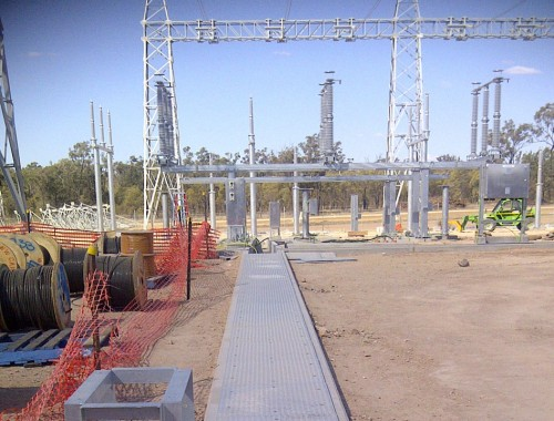 Kenro manufactured and supplied top quality Pit Lids at short notice to Columboola Substation.